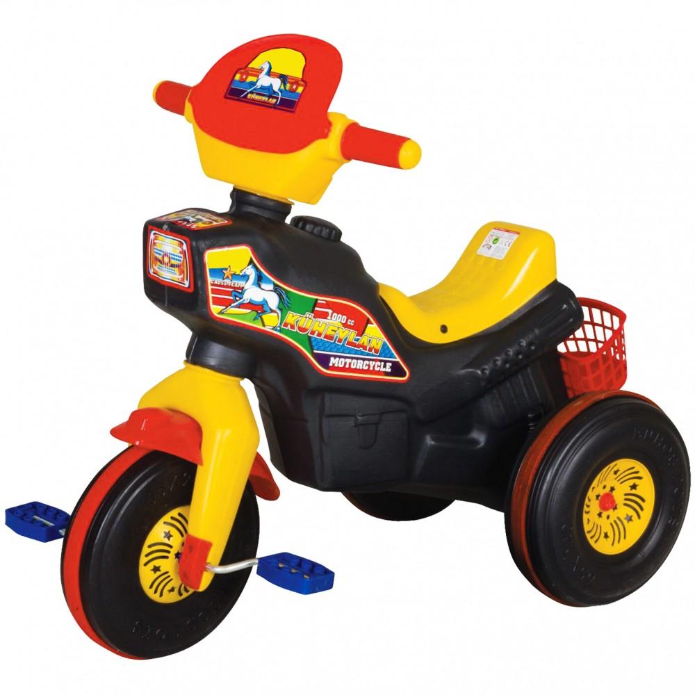 Παιδικό Τρίκυκλο Ποδήλατο Magic Horse Μαύρο 7061