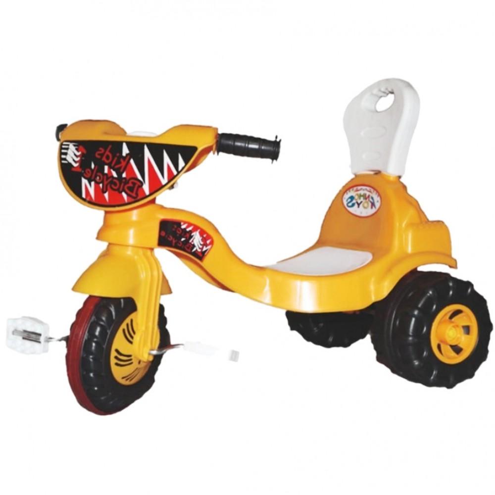 Παιδικό Τρίκυκλο Ποδήλατο Magic Κίτρινο B7082-YL