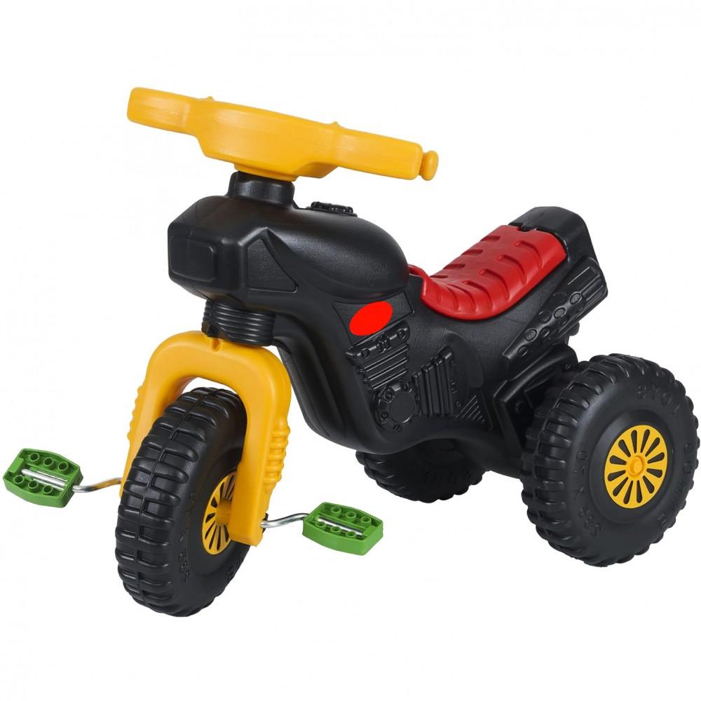 Παιδικό Τρίκυκλο Ποδήλατο Magic Horse Μαύρο-Κόκκινο 7094-RD