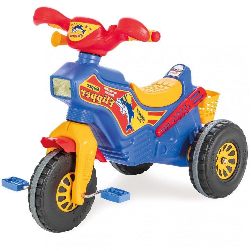 Pilsan - Παιδικό Τρίκυκλο Ποδήλατο Flipper Μπλε - Κόκκινο PL-111